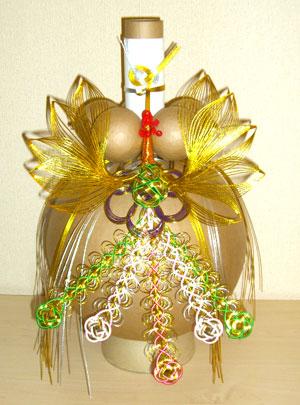 花火玉飾り付き